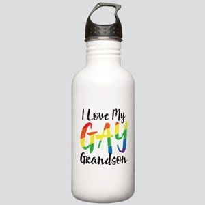 I Love My Gay Grandson Stainless Water Bottle 1.0L