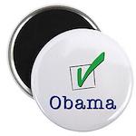 Obama Check Light Magnet