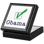 Obama Check Light Keepsake Box