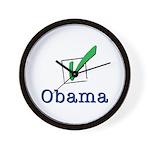 Obama Check Light Wall Clock