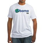 Obama 08 Light Fitted T-Shirt