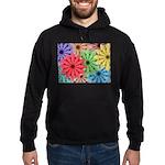 Colorful Flowers Hoodie