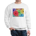 Colorful Flowers Sweatshirt