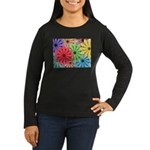 Colorful Flowers Long Sleeve T-Shirt