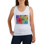 Colorful Flowers Tank Top