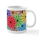 Colorful Flowers Mugs
