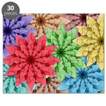 Colorful Flowers Puzzle