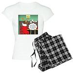 A Wiener Dog Christmas Women's Light Pajamas