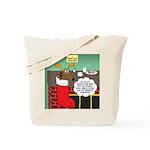 A Wiener Dog Christmas Tote Bag