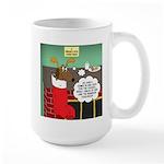 A Wiener Dog Christmas 15 oz Ceramic Large Mug