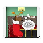A Wiener Dog Christmas Mousepad