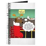 A Wiener Dog Christmas Journal
