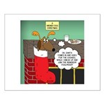 A Wiener Dog Christmas Small Poster