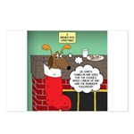 A Wiener Dog Christmas Postcards (Package of 8)