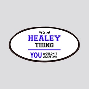 It's HEALEY thing, you wouldn't understand Patch