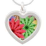 Colorful Flowers Necklaces