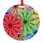 Colorful Flowers Ornament