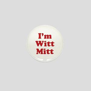Romney Witt Mitt Light Mini Button