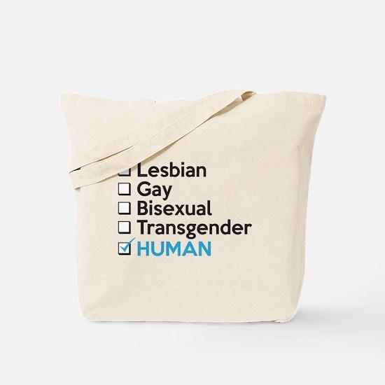 I'm Human - Gay Pride Tote Bag