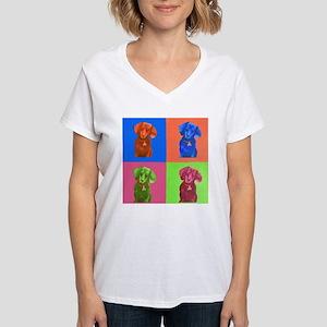 Pop Art Dachshund T-Shirt