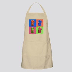 Pop Art Dachshund Light Apron