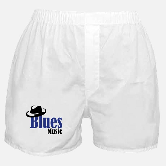 Blues Music Boxer Shorts