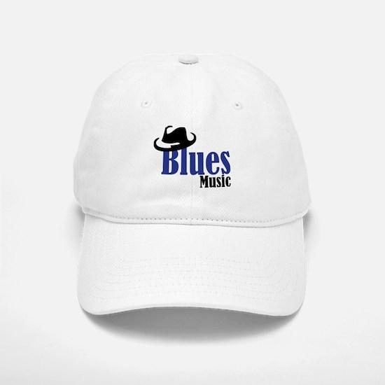 Blues Music Baseball Baseball Cap