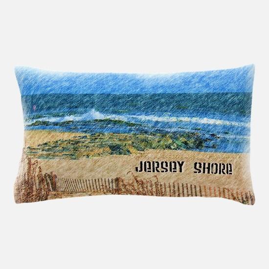 Cute Jersey shore Pillow Case