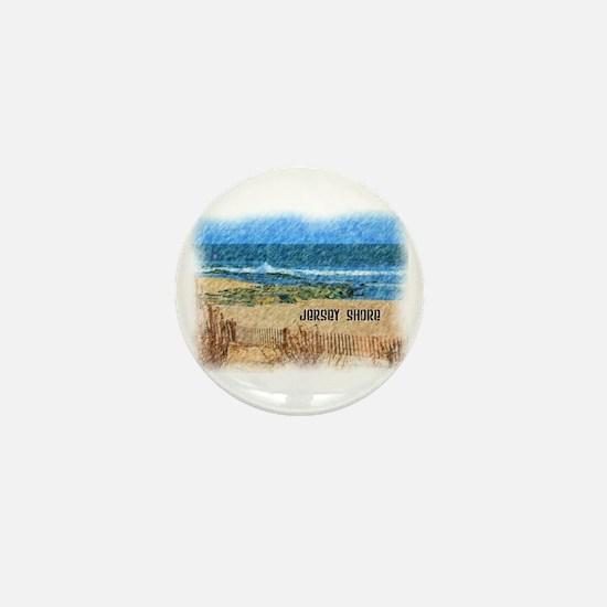 Cute Shore Mini Button