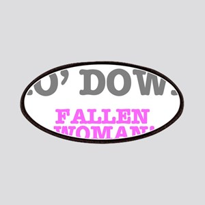 HO' DOWN - FALLEN WOMAN! Patch
