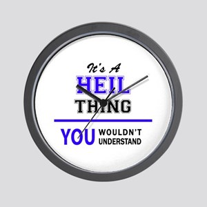 It's HEIL thing, you wouldn't understan Wall Clock