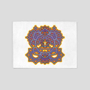 Mandala Zen 5'x7'Area Rug