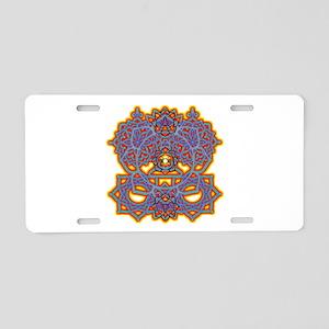 Mandala Zen Aluminum License Plate