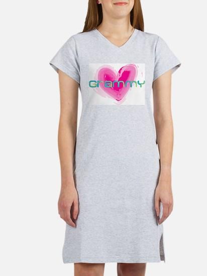 Cute Watercolor Women's Nightshirt