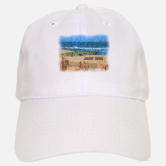 Jersey Shore NJ Beach Baseball Baseball Cap