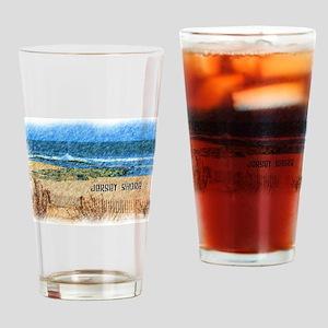 Jersey Shore NJ Beach Drinking Glass