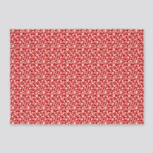 SmallHearts_20171201_by_JAMColors 5'x7'Area Rug