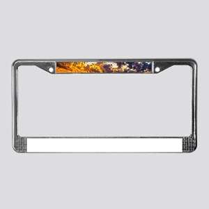 Beautiful Sunset Landscape License Plate Frame
