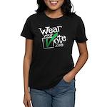 Wear Your Vote Dark Women's Dark T-Shirt