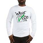 Wear Your Vote Light Long Sleeve T-Shirt