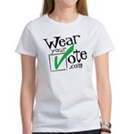 Wear Your Vote Light Women's T-Shirt