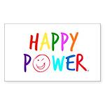 Happy Power Sticker