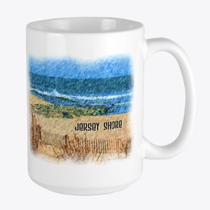 Jersey Shore NJ Beach Mugs