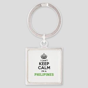 Philipines I cant keeep calm Keychains