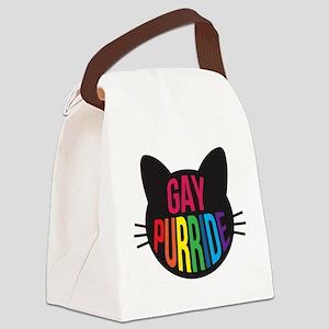 Gay Purride Canvas Lunch Bag