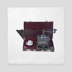 coffee grinder briefcase business caffiene drink h