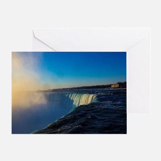 Unique Niagara falls Greeting Card