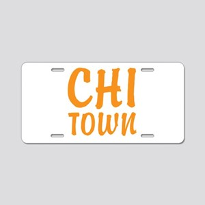 CHI-TOWN Aluminum License Plate