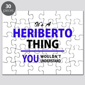 It's HERIBERTO thing, you wouldn't understa Puzzle