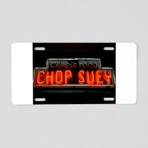 Chop Suey!! Aluminum License Plate